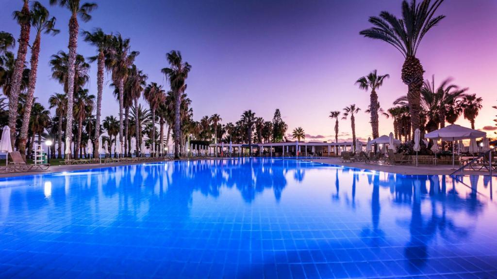 The swimming pool at or near Louis Phaethon Beach