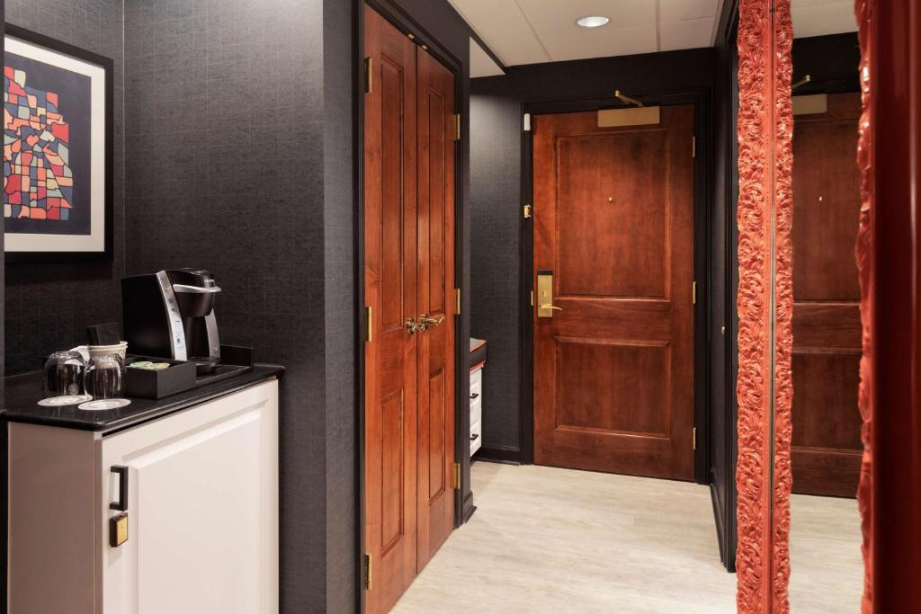 A kitchen or kitchenette at Hyatt Centric Downtown Minneapolis