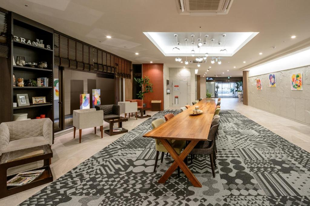 The lobby or reception area at Hotel Gran Ms Kyoto