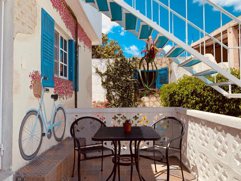 A balcony or terrace at Caribo Cozumel