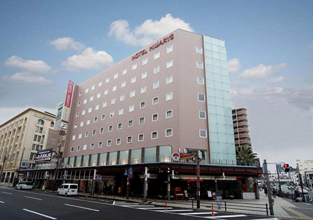 The building in which the hotel is located