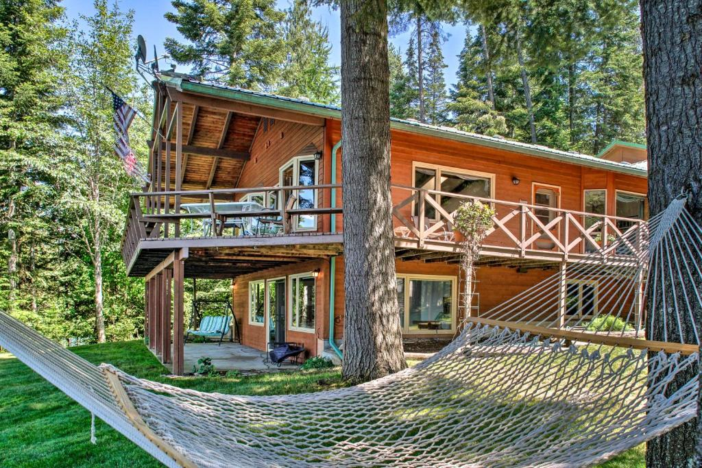 Waterfront Hayden House with Private Deck and Dock!