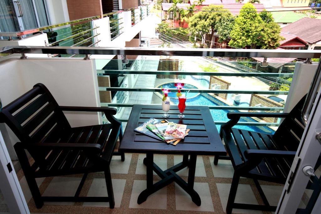 Балкон или терраса в First Residence Hotel