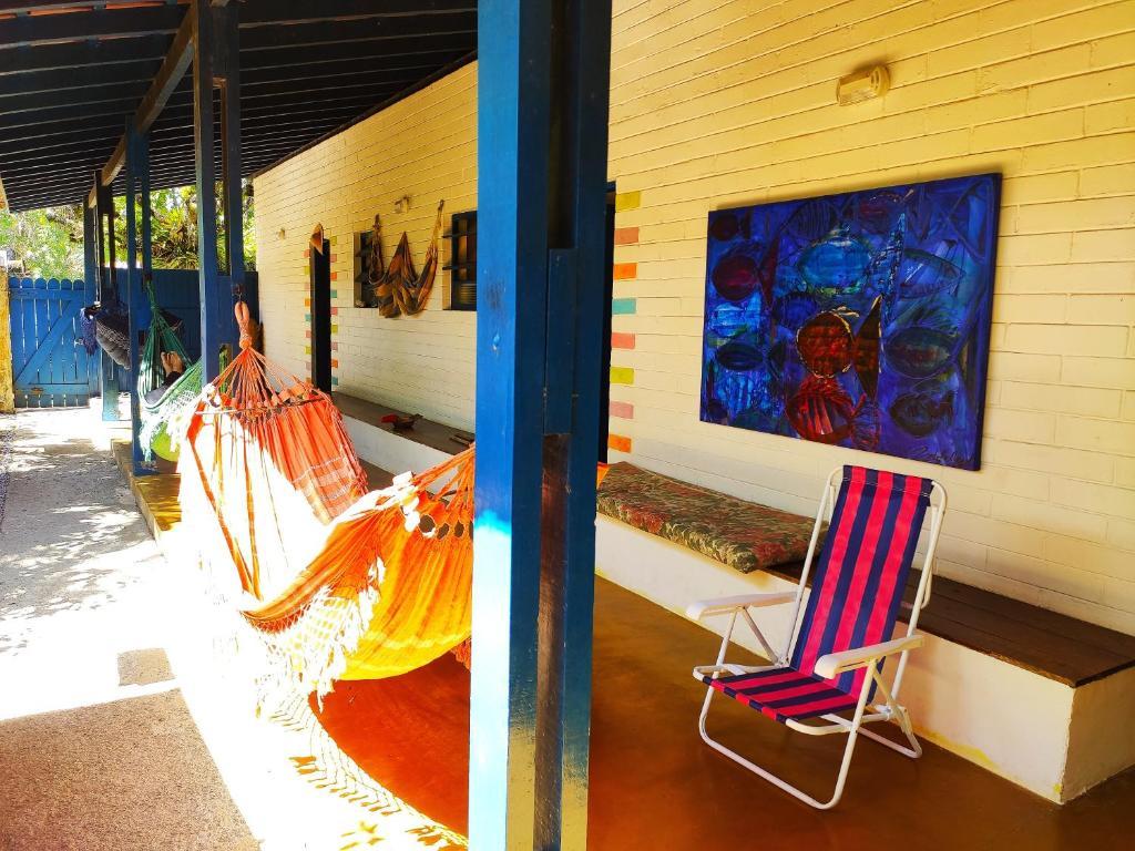 Quartos em casa rústica em Juquehy - 40 m da praia