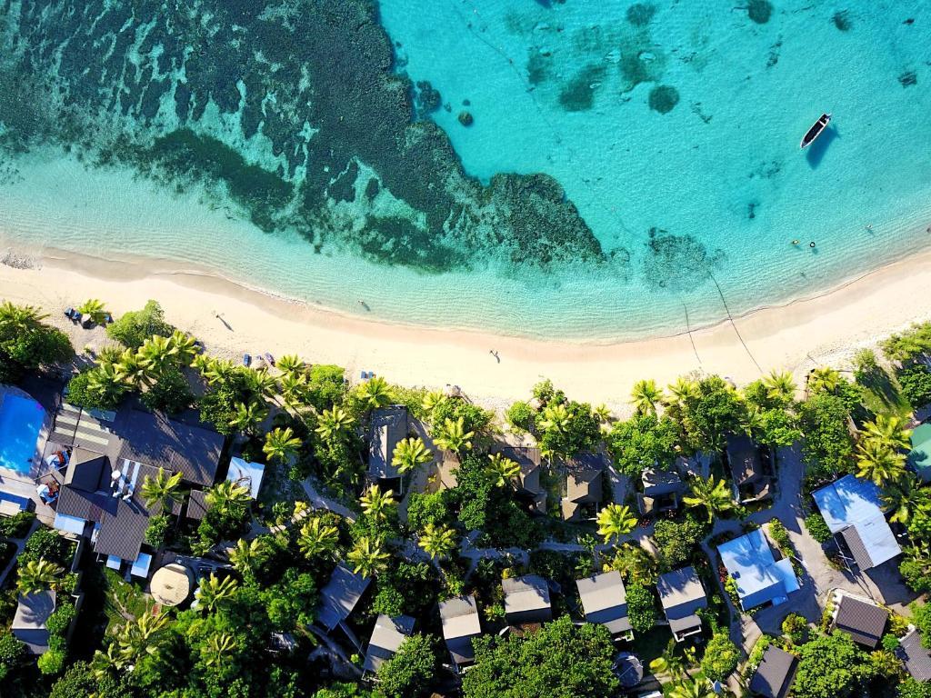 A bird's-eye view of Blue Lagoon Beach Resort