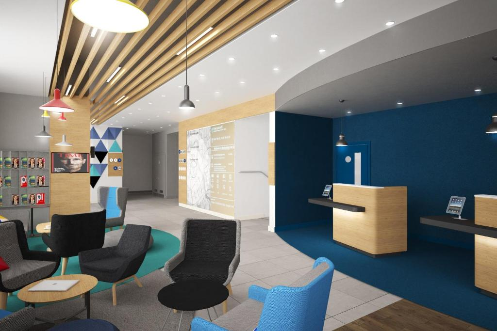 The lobby or reception area at Holiday Inn Express - Moscow - Paveletskaya