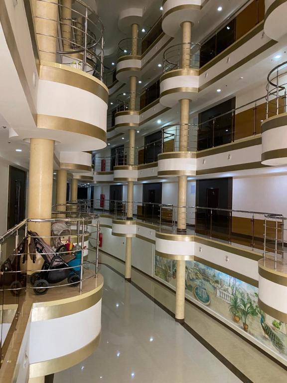 The lobby or reception area at Apollon