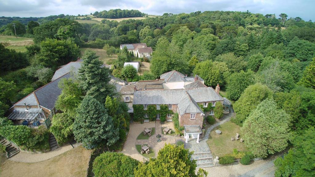 A bird's-eye view of Boscundle Manor