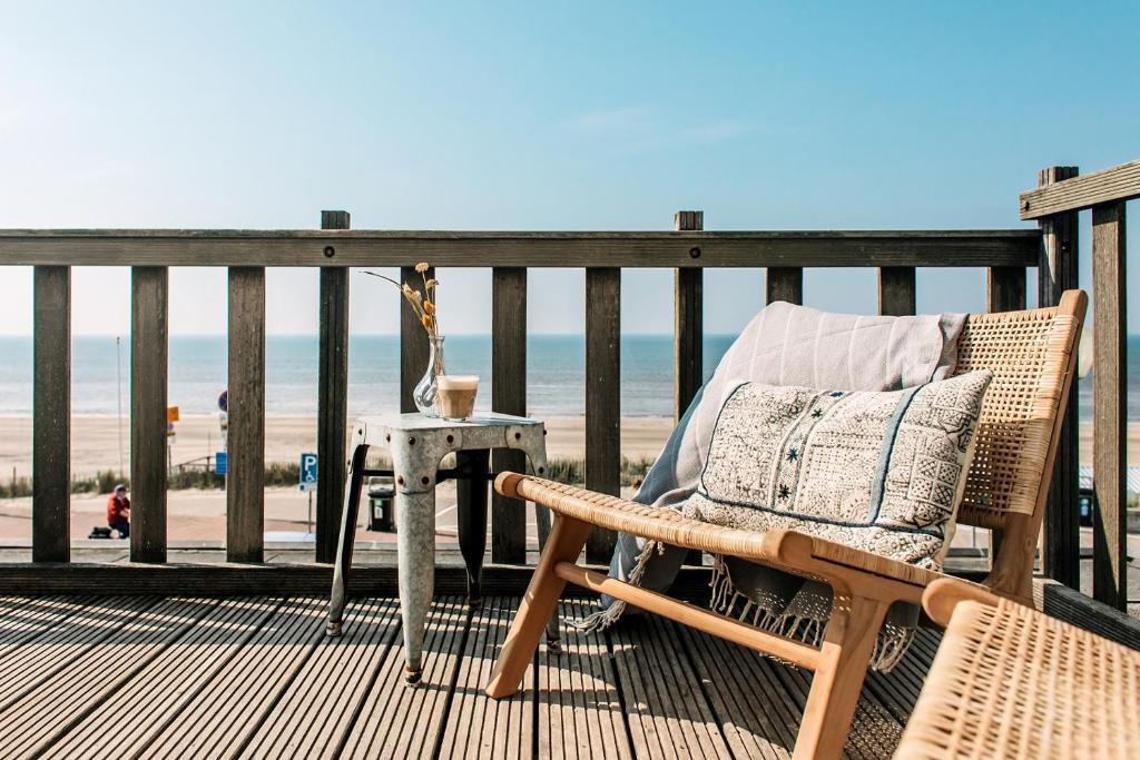 A balcony or terrace at Boulevard 5