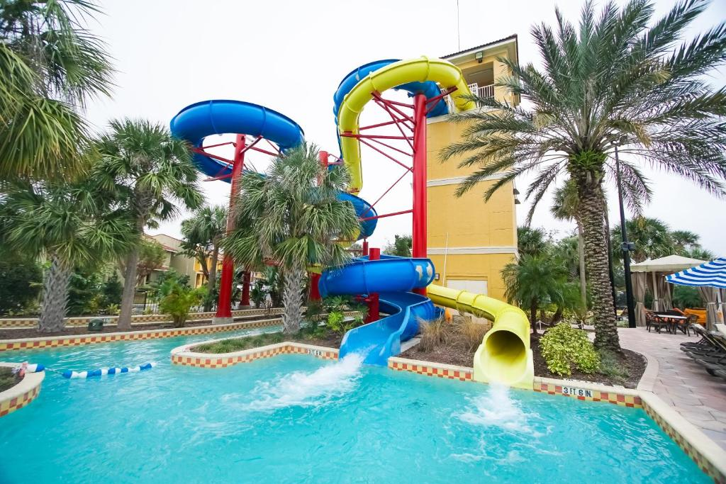 Aqua park at the holiday home or nearby