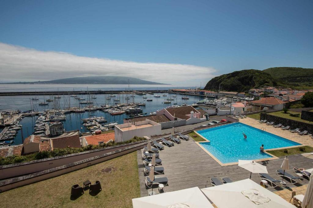 A view of the pool at Azoris Faial Garden – Resort Hotel or nearby