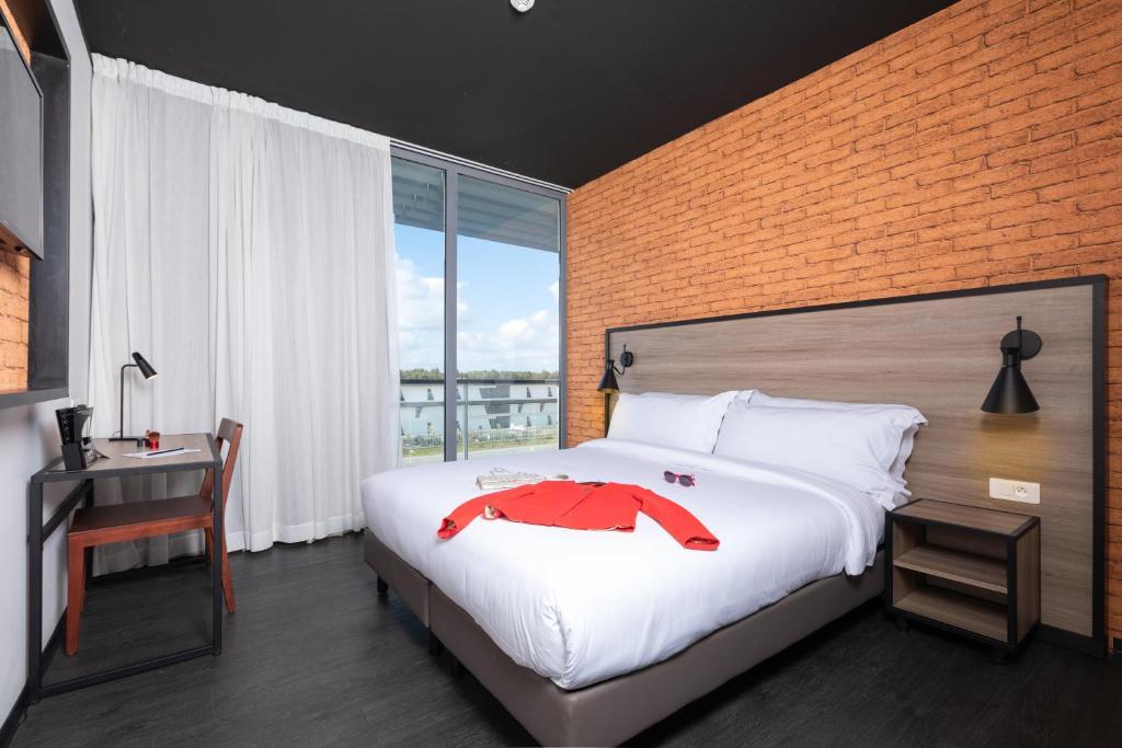 ONOMO Airport Casablancaにあるベッド