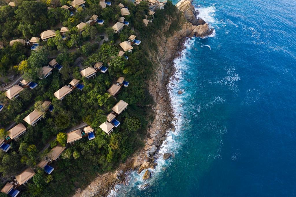 A bird's-eye view of Banyan Tree Cabo Marques