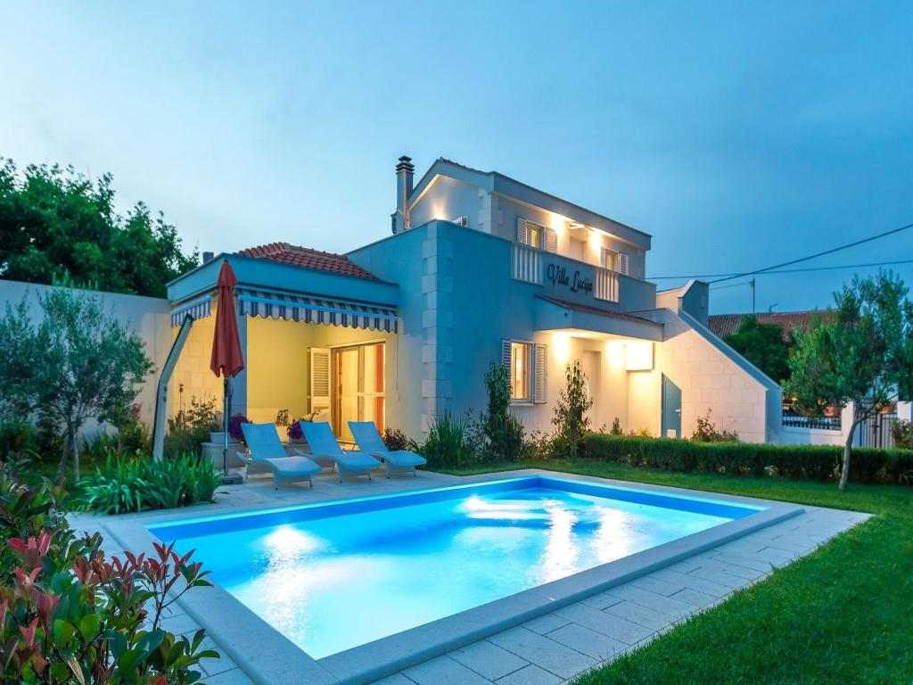 Lovely Holiday Home With Private Swimming Pool Garden With Roofed Terrace Bbq Vrsi Updated 2021 Prices
