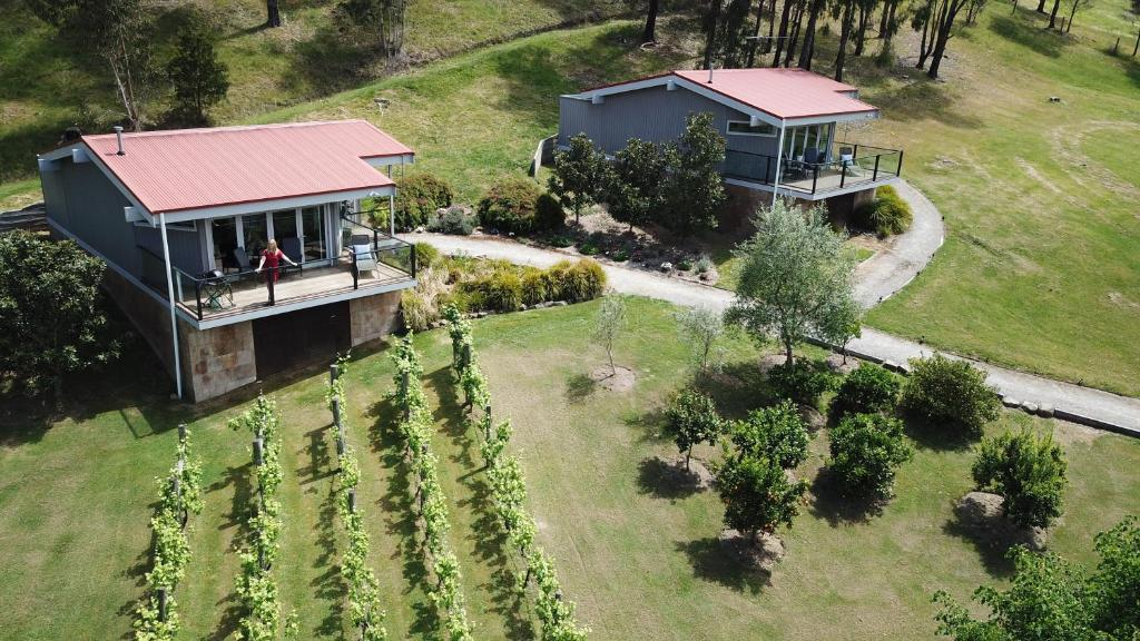 A bird's-eye view of Araluen Boutique Accommodation