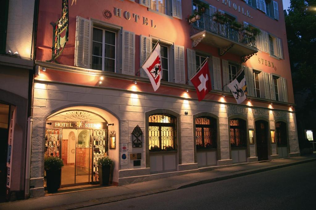 Romantik Hotel Stern Chur, Switzerland