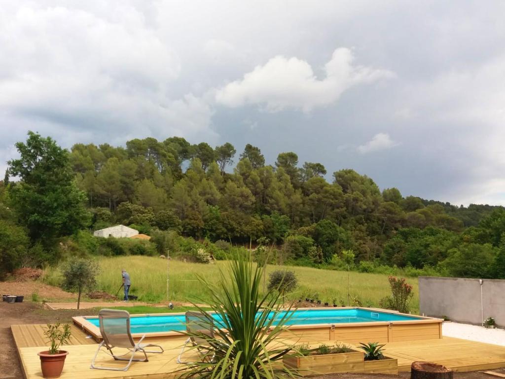 The swimming pool at or near Apartment Chemin de l'Eau Salée