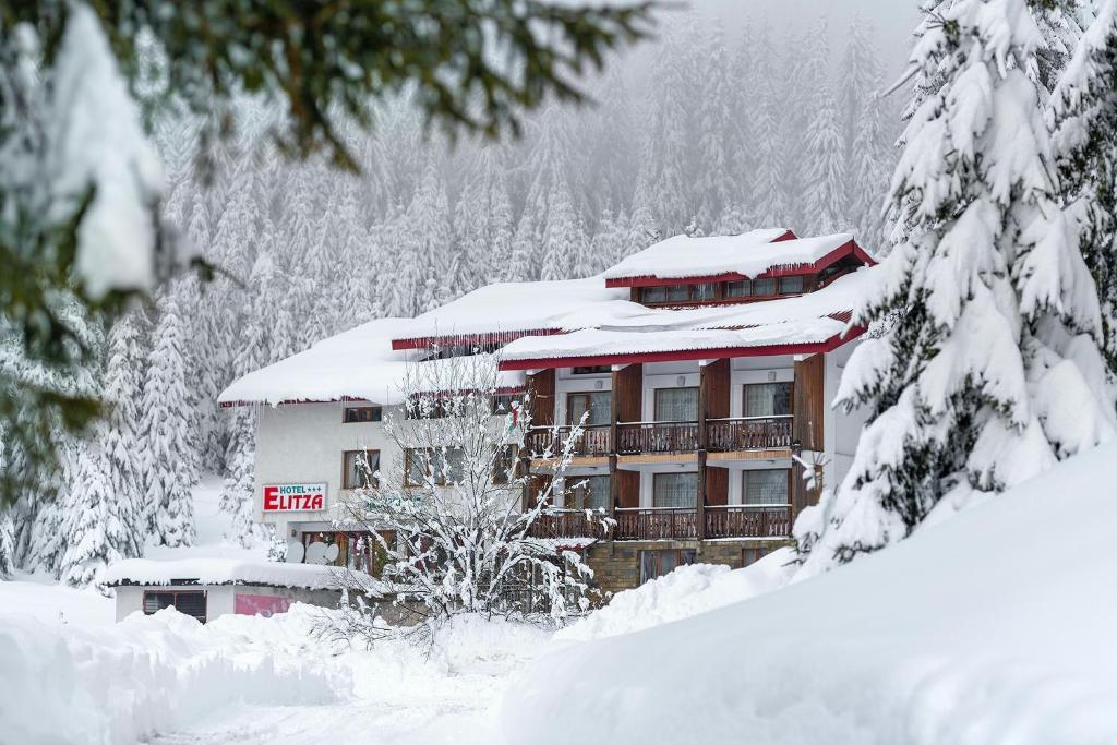 Hotel Elitza during the winter