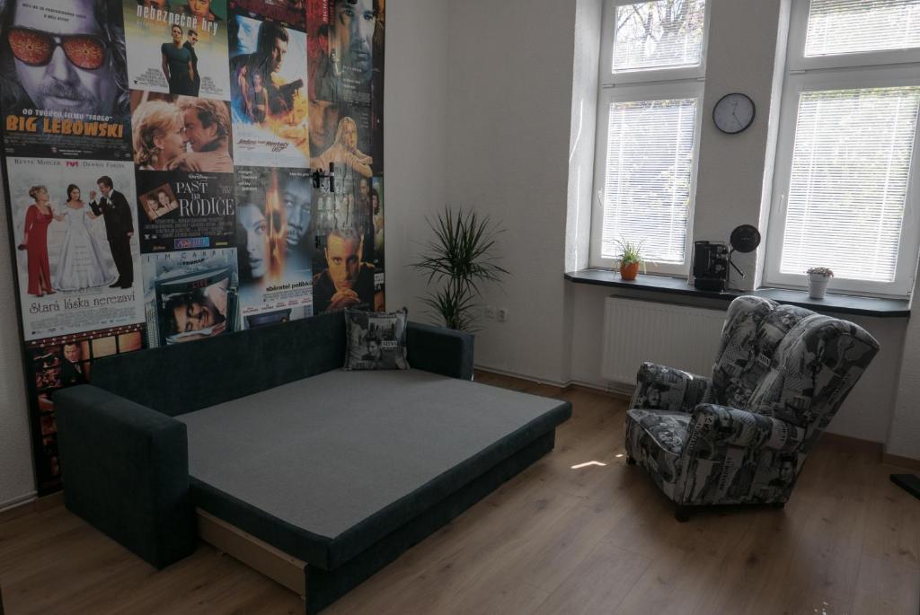 Posezení v ubytování Apartment Belvedere