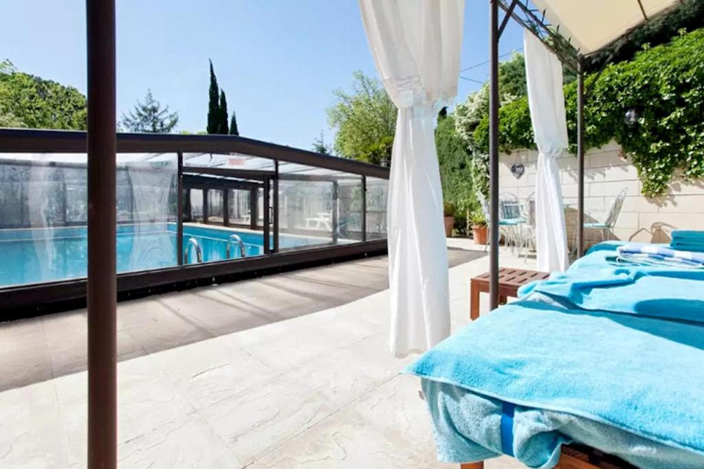 A view of the pool at Villa with 6 bedrooms in Barbentane with private pool enclosed garden and WiFi 80 km from the beach or nearby