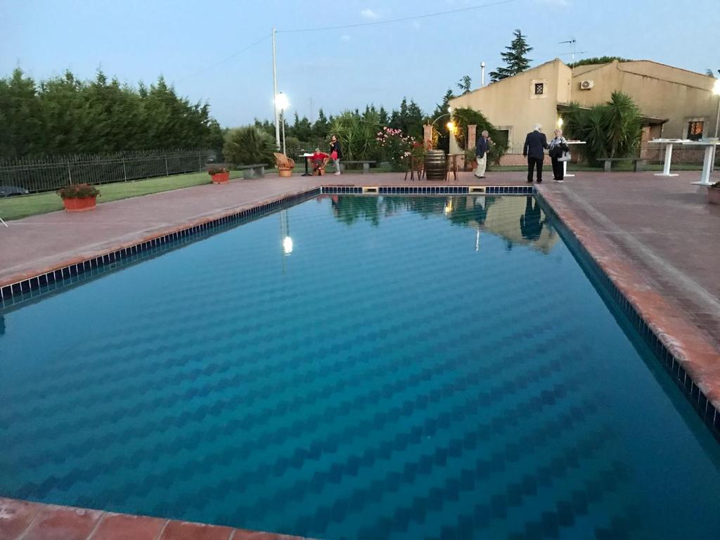 Studio in Grammichele with shared pool and WiFi 50 km from the beach