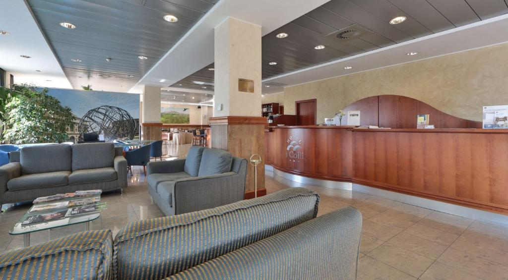 The lobby or reception area at Best Western Hotel I Colli