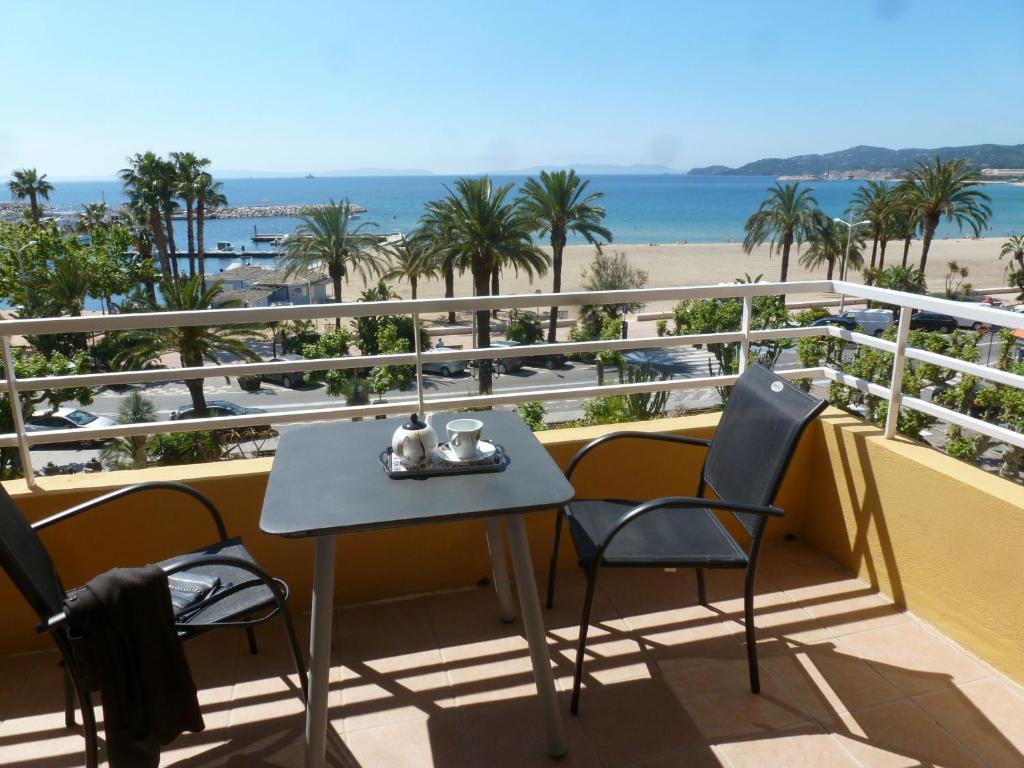 Balcon ou terrasse dans l'établissement Hotel Espadon