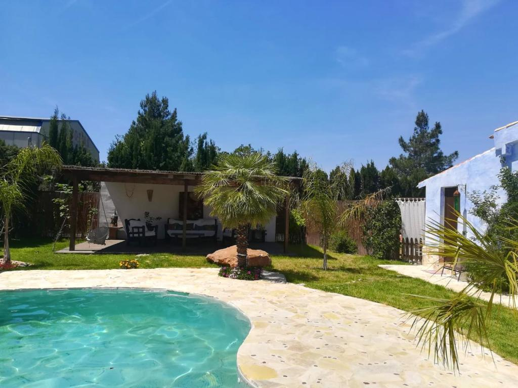 House with one bedroom in Murcia with wonderful mountain view shared pool enclosed garden 43 km from the beach