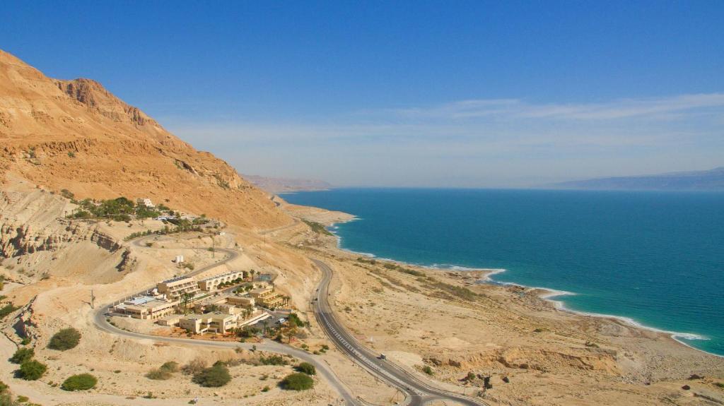 A bird's-eye view of HI - Ein Gedi Hostel
