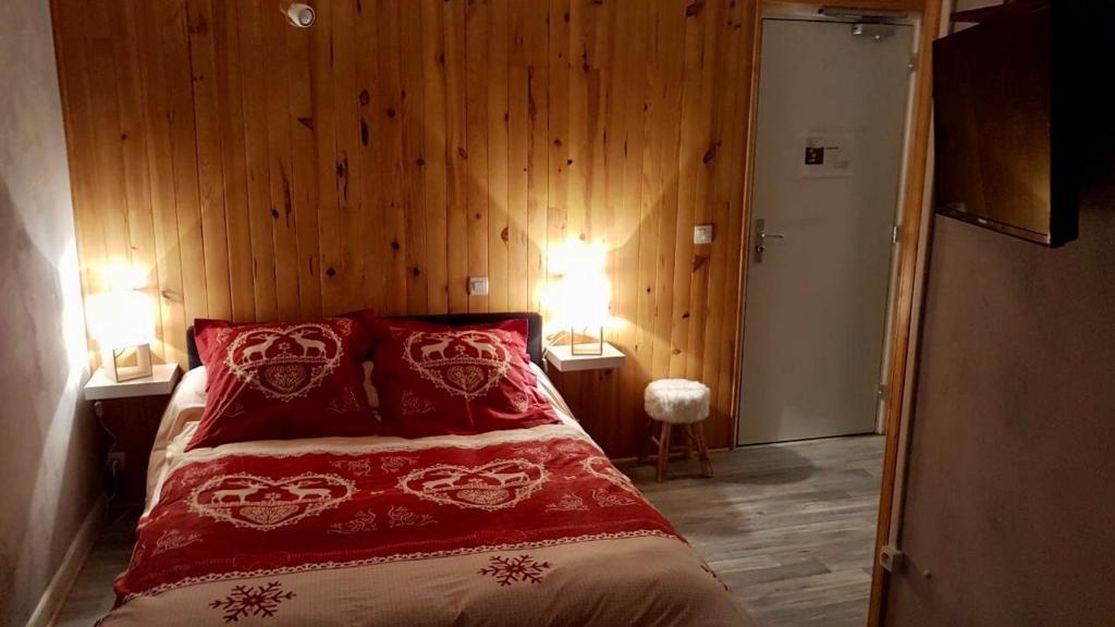 Un ou plusieurs lits dans un hébergement de l'établissement La Condaminoise