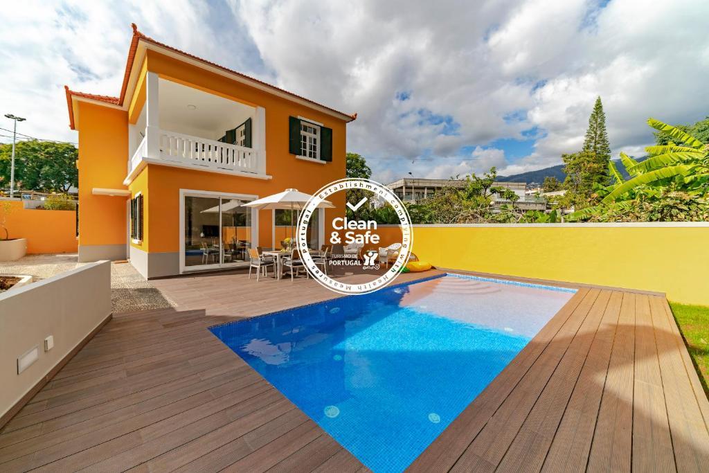 A piscina em ou perto de A Casa Amarela by An Island Apart