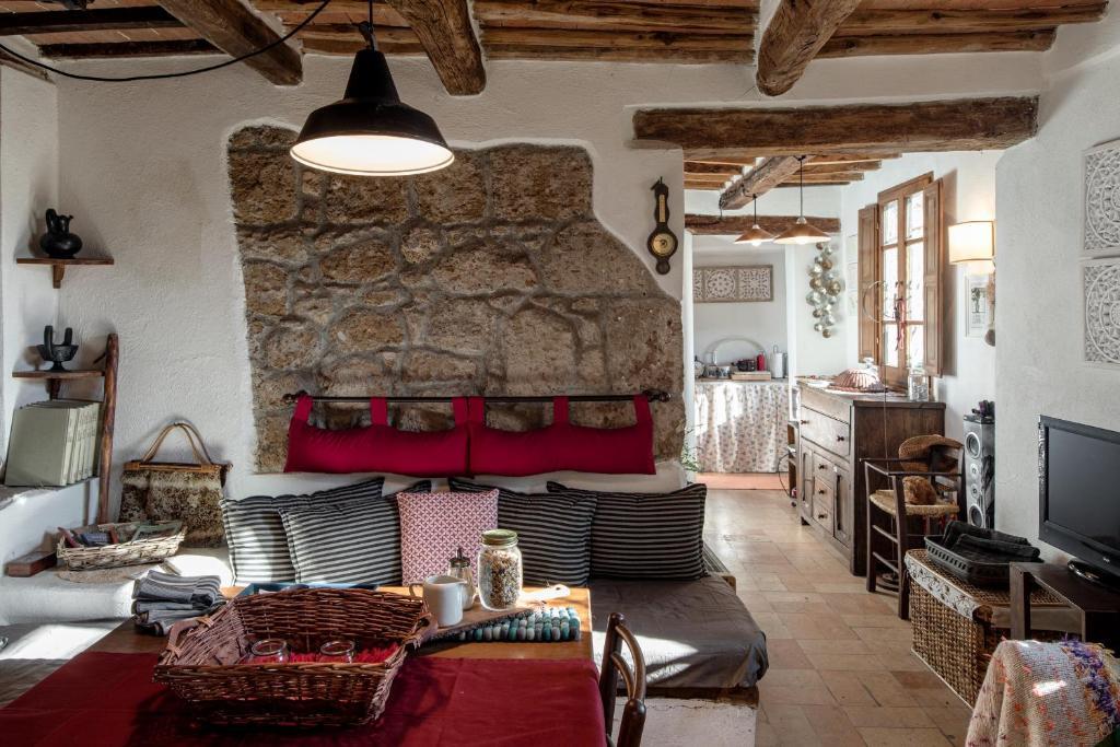 Area soggiorno di Casa Marghera House Winery Bikes
