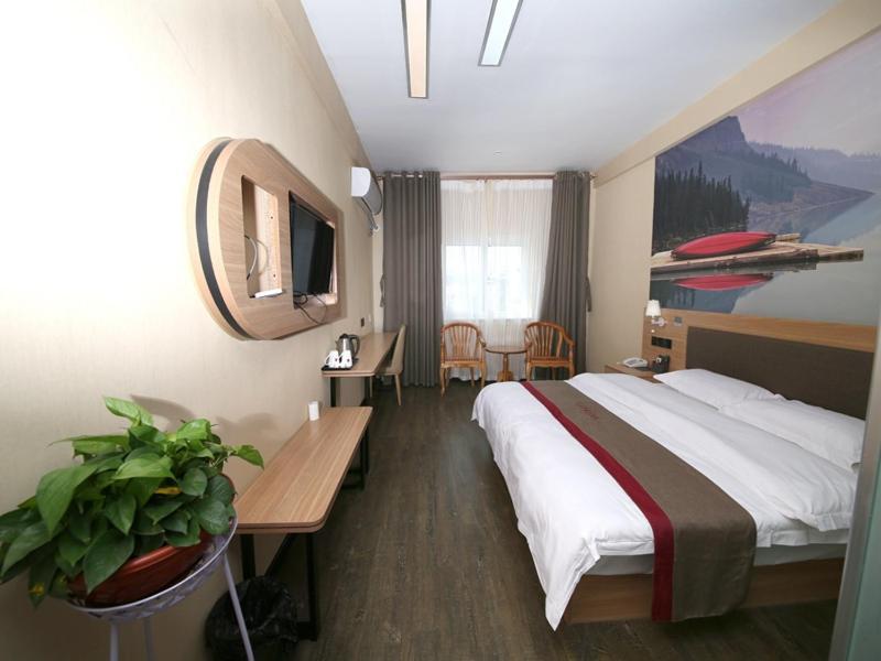 Thank Inn Chain Hotel Shandong Dezhou Lingcheng District Lingzhou Road Ginza