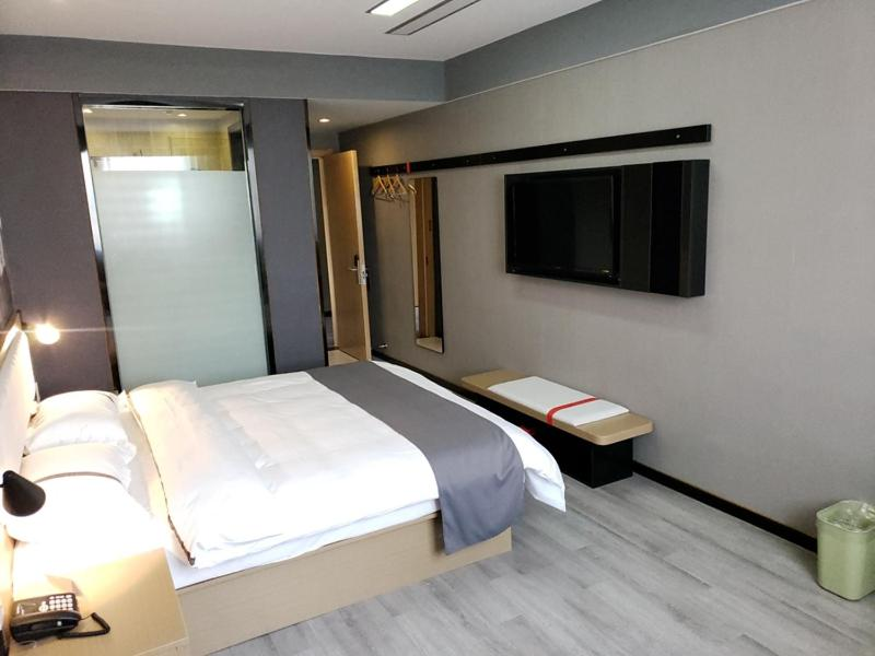 Thank Inn Chain Hotel Anhui Anqing Yixiu District Government University Town