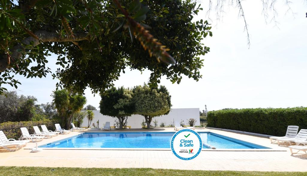 The swimming pool at or near Monte dos Avós Village