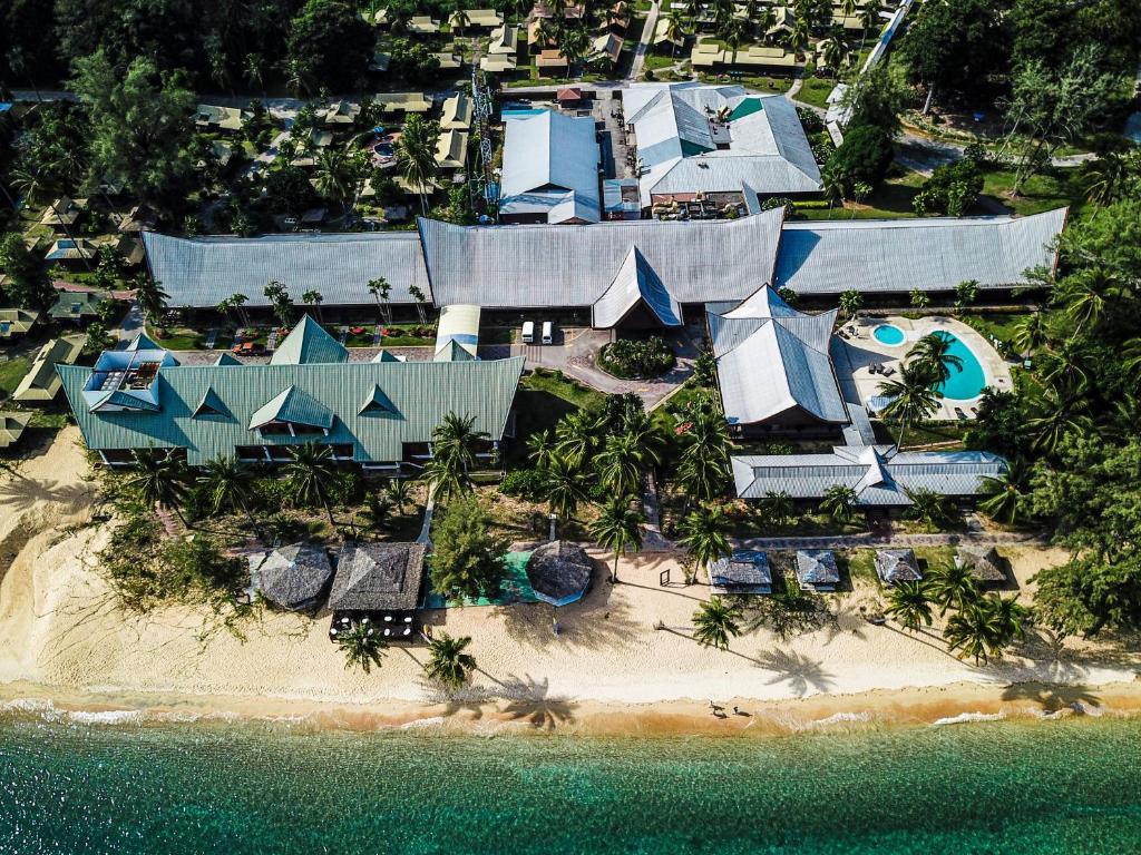 A bird's-eye view of Berjaya Tioman Resort