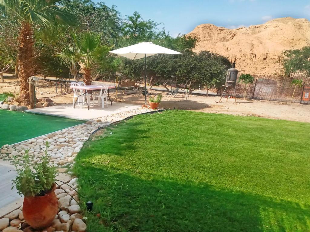 בריכת השחייה שנמצאת ב-סתלבט במדבר או באזור
