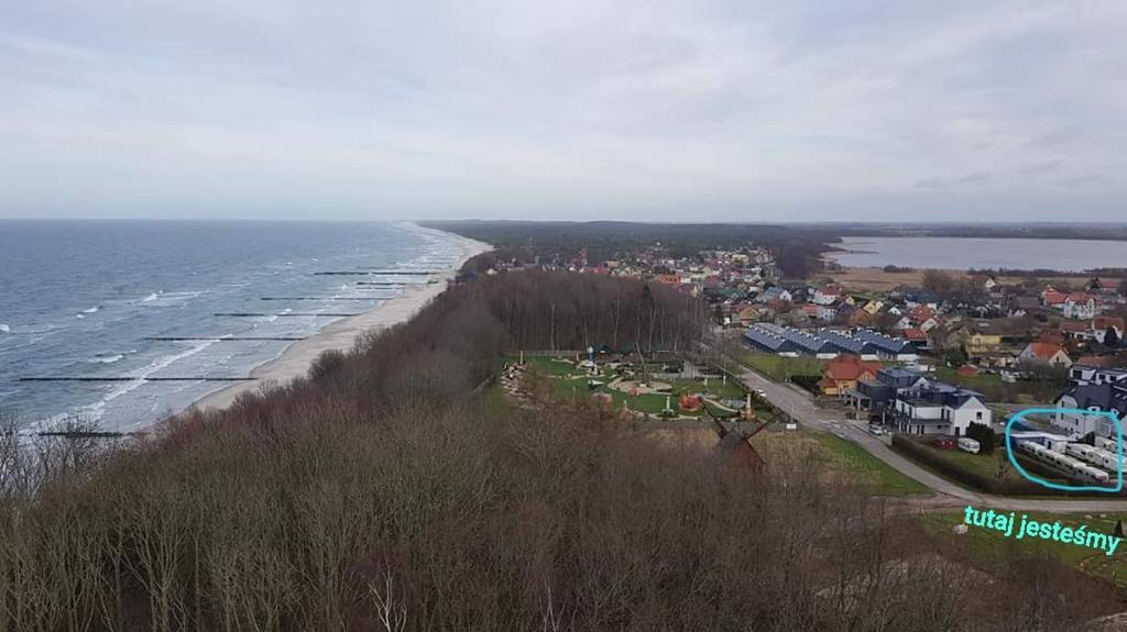 Widok z lotu ptaka na obiekt Caravans Magda