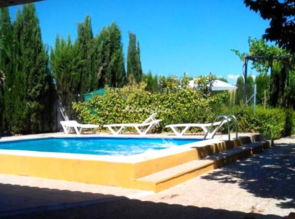 Villa with 3 bedrooms in Chimeneas with wonderful mountain view private pool enclosed garden 40 km from the beach