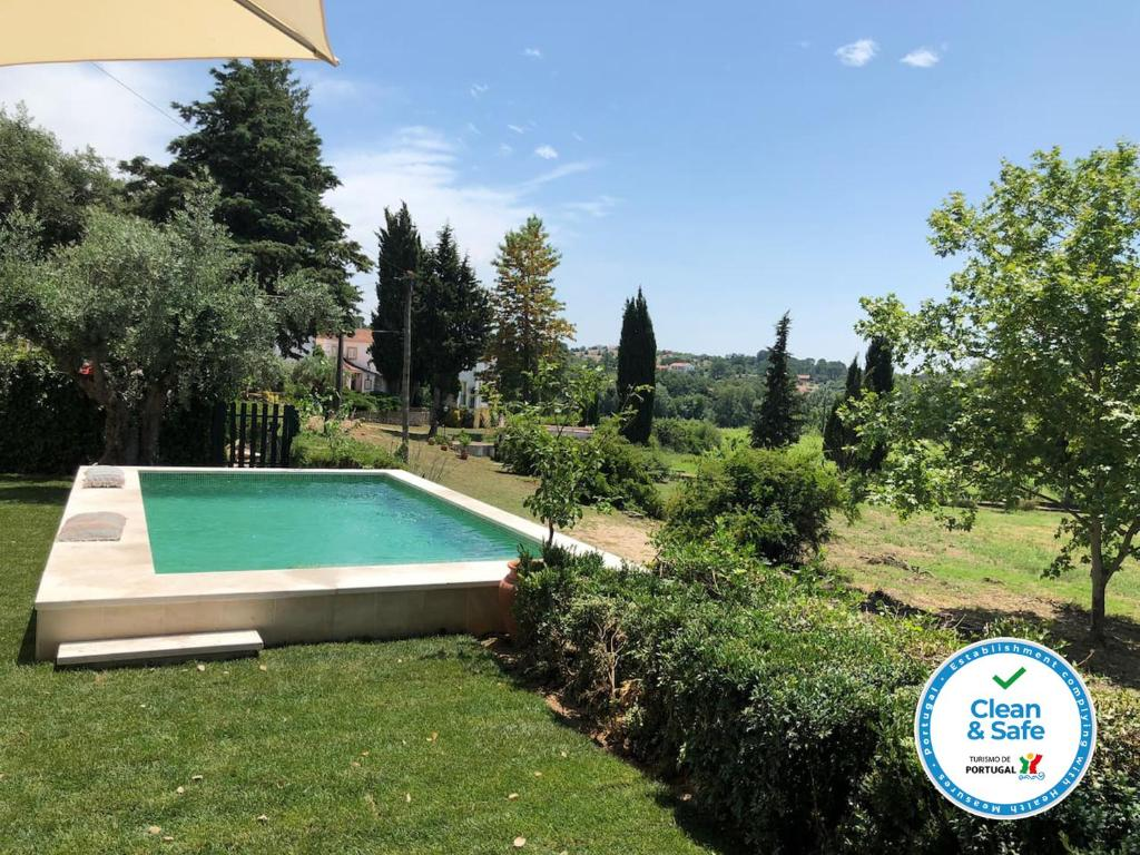 The swimming pool at or near Tomar Countryside Retreat for Family & Friends