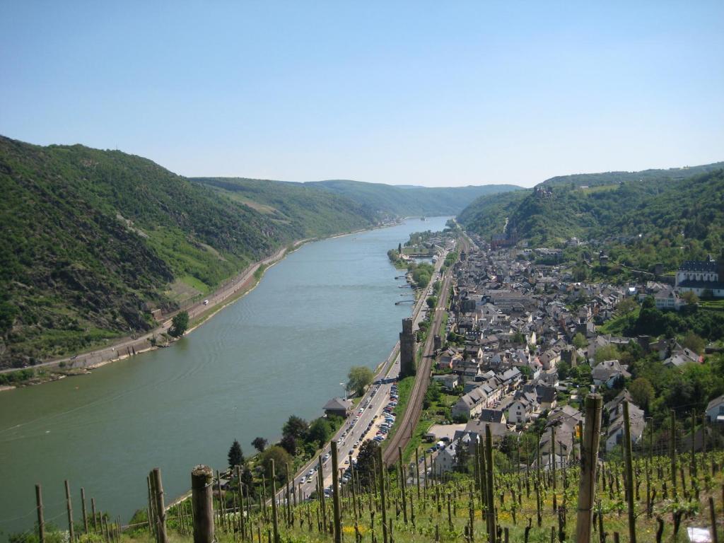 Άποψη από ψηλά του Ferienwohnungen Engelsgaertchen