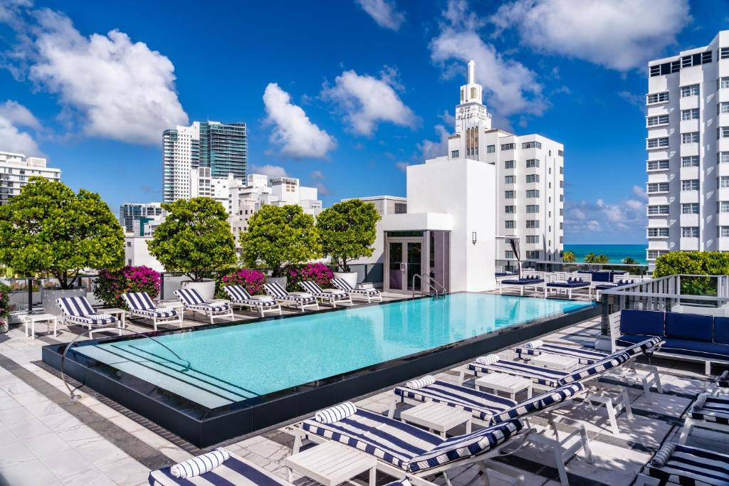 The swimming pool at or near Gale South Beach, Curio Collection By Hilton