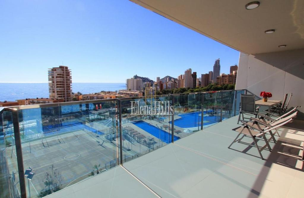 Brand new luxury apartment in second line of beach with sea views in Benidorm - (Ref: 1121-V) 17