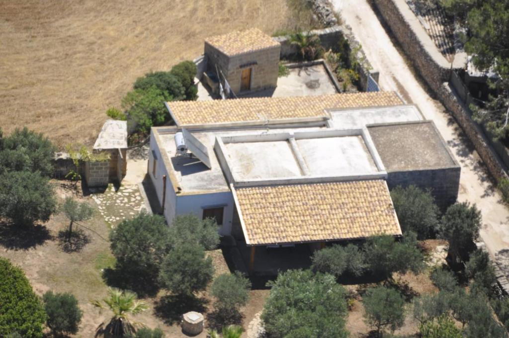 Vista aerea di Casa Gelsomino