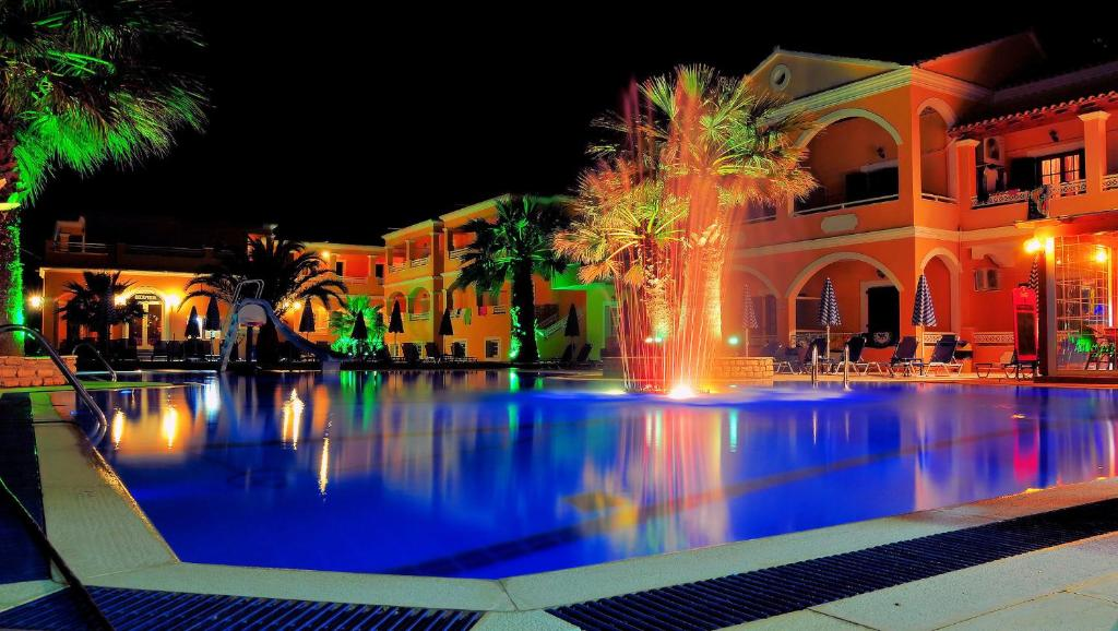 The swimming pool at or near LAGOON HOTEL & APARTMENTS