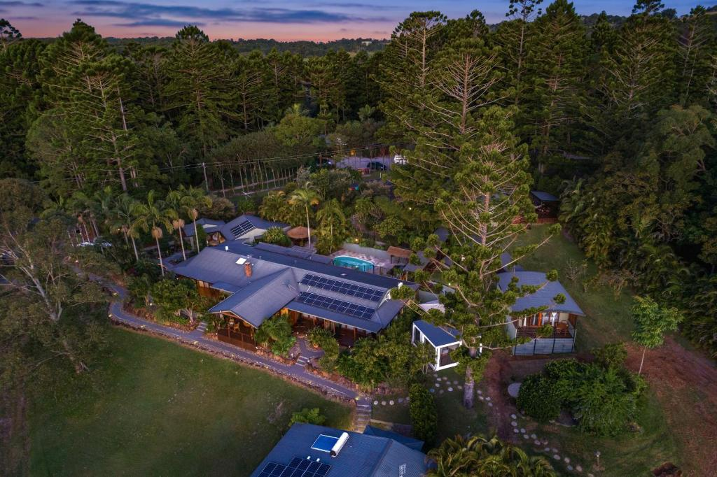 A bird's-eye view of Cape Byron Retreat (Adults-Only)