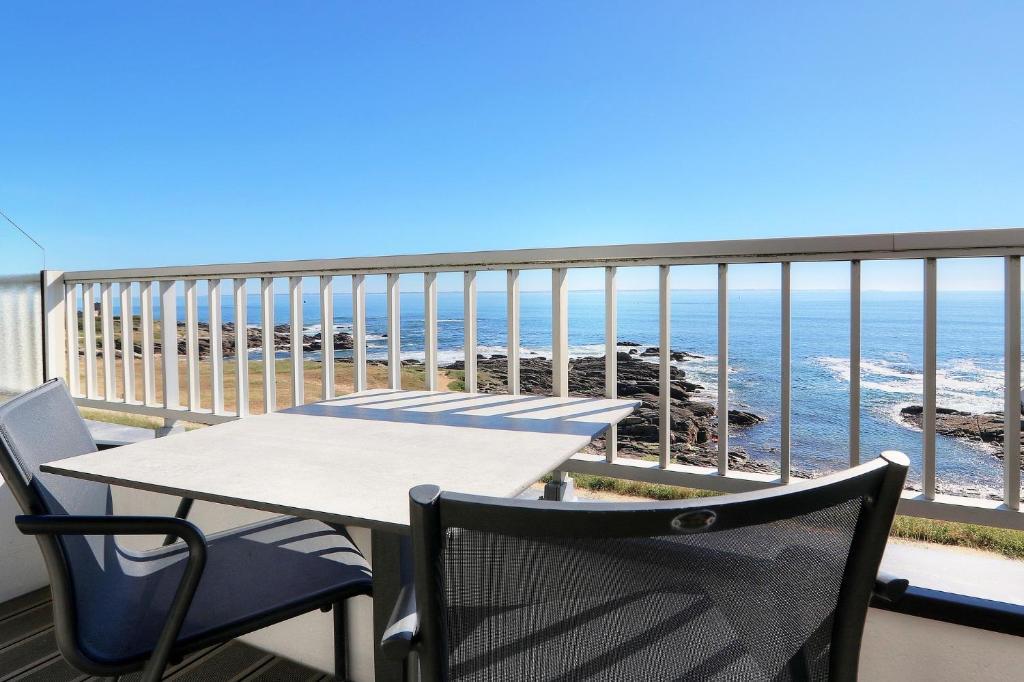 Balcon ou terrasse dans l'établissement La Petite Sirène