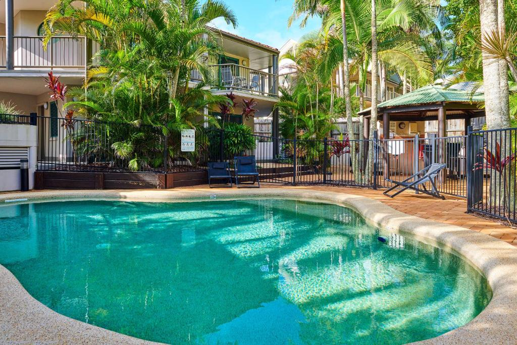 The swimming pool at or near Beaches Twelve