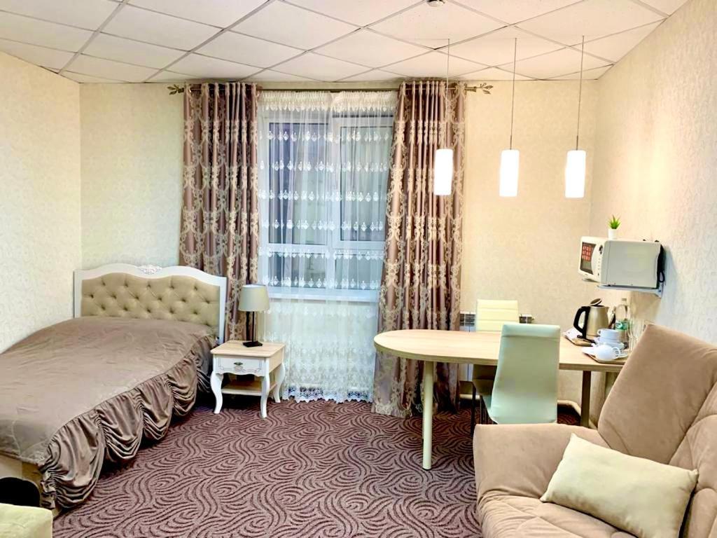 Гостиная зона в Mini Hotel Zvezdny