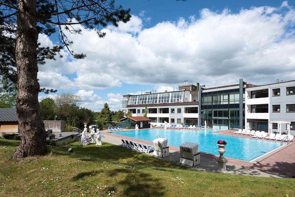 Swimmingpoolen hos eller tæt på Hotel des Nordens